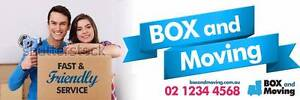 BOX AND MOVING (dragon express) Canberra City North Canberra Preview