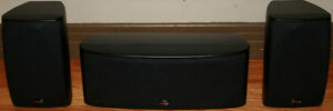 Polk Audio Center Channel & Front or Rear Channel Speakers