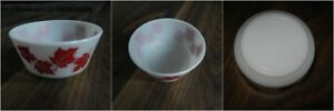 "*Vintage* Hazel Atlas ""Maple Leaf"" Cereal Bowl"