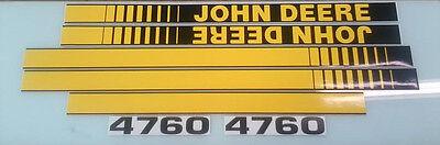 John Deere 4760 Hood Decals