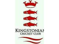 Cricket umpires or scorers wanted - Kingstonian Cricket Club