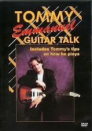 TOMMY EMMANUEL Guitar Talk DVD BRAND NEW Instructional Video