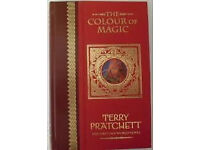 SUPER RARE COLLECTIBLE BOOKS - Terry Pratchett Unseen Library collection