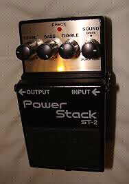 Boss Power Stack Pedal