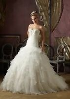 Exquisite Mori Lee Blu Gown - Size 16