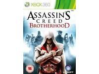 Xbox 360 Assassins creed brotherhood game