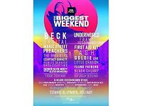 4 x Tickets - BBC 6 Music Belfast - Friday 25th May