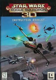 STAR WARS ROGUE SQUADRON 3D/ CD ROM/REBELLION