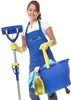 $13.00/hr to start EXPERIENCED RESIDENTIAL & COMMERCIAL CLEANERS