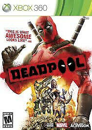XBOX 360 DEADPOOL (LOTS OF OTHER TITLES IN STORE)