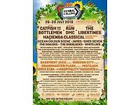 1 x Kendal Calling Weekend Teen Ticket (11-15) plus early Thursday entry.