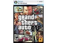 Grand Theft Auto IV - GTA 4 PC Game DVD Disc for Sale