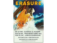 Erasure Tickets Dundee 02 Feb 2018