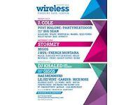 Wireless Saturday tickets