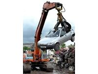SCRAP CARS TAKEN DEAD OR ALIVE SAME DAY