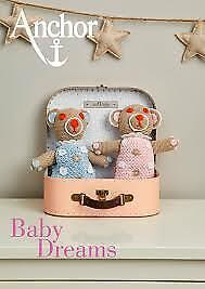 Baby Dreams Anchor Häkeln Anleitung Kleidchen Jäckchen Schuhe Mütze Decke Bär...