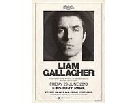 Liam Gallagher at Finsbury Park 29/06/2018