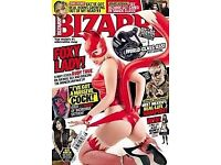 big selection of Bizzare magazines