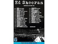 Ed Sheeran Tickets - Cardiff Saturday 23rd June 2 tickets £300