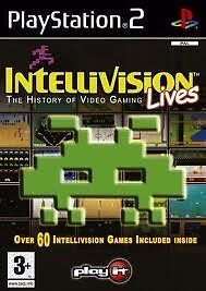 INTELLIVISION LIVES NEW SEALED PS2 PLAYSTATION 2 GAME CLASSIC ARCADE COLLECTION