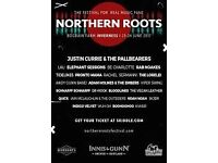 Northern Roots Festival Tickets 23rd/24th June 2017 x 2