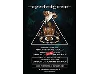 2 x A perfect Circle Standing Tickets Brixton 14/06/18