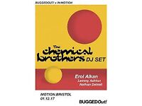 1x Chemical Brothers IN:MOTION/Bugged Out ticket