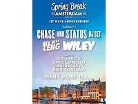 SPRING BREAK AMSTERDAM TICKET FOR SALE
