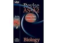 AS & A2 Letts Biology Revision Guide (includes AQA, OCR, WEJC, CCEA and Edexcel)