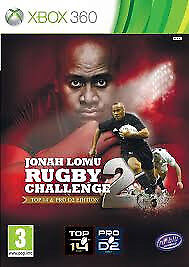 XBOX 360 JONAH LOMU RUGBY CHALLENGE 2 (LOTS OF OTHER TITLES IN STORE)
