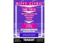 TRNSMT Sunday tickets x 2