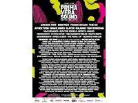 Sell Ticket Primavera Sound 2017, 150€!!