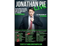 FOR SALE: Two tickets to Jonathan Pie @ Komedia Bath, February 2nd. Face Value £19.50