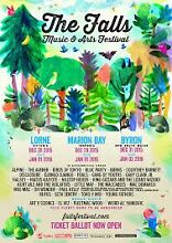 2 x 3 day Falls Festival Lorne tickets Pascoe Vale South Moreland Area Preview