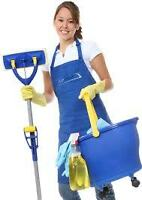 $14.00/hr to start EXPERIENCED RESIDENTIAL & COMMERCIAL CLEANERS