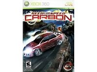Need For Speed - Carbon on XBOX 360
