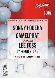 Camelphat Tickets Invisible Wind Factory Boxing Day Liverpool