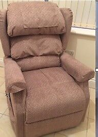 As New Electronically adjusting Riser Recliner chair ideal for elderly or disabled users