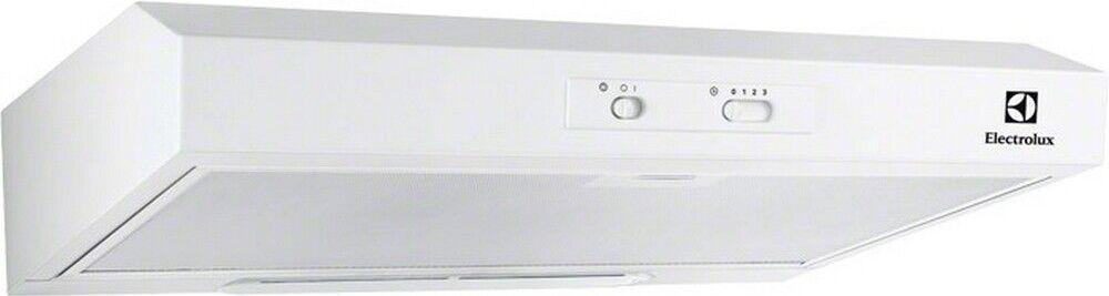 Electrolux Dunstabzugshaube weiß 60cm Unterbauhaube Unterschrank Umluft Abluft