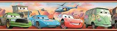 CARS Kinder Bordüre - Fototapete Tapete Borte Poster Auto Zimmer McQueen