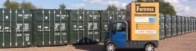 Cheapest Self Storage 10 foot and 20 foot container storage units cheapest in West Midlands