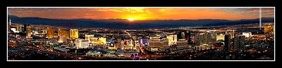 Las Vegas Nevada Poster Helicopter Consider from The Rio Casino #593 FREE SHIPPING *