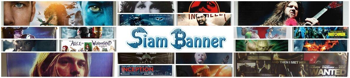 Siam Banner : Custom Vinyl Banner