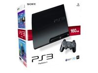 Sony Playstation PS3 (160GB) with selection of games