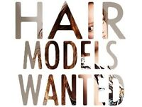 Hair Models Needed