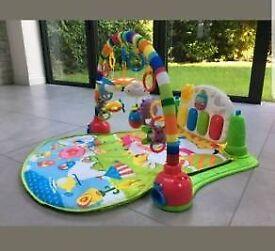 Lay and play baby play mat