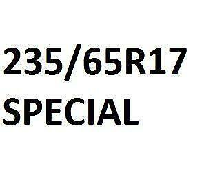 235/65R17 - 499 $ *****************INSTALLATION INCLU
