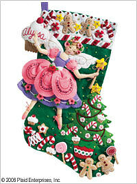 Bucilla-Sugar-Plum-Fairy-Felt-Stocking-Kit