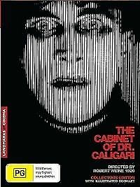 The Cabinet of Dr. Caligari (DVD, 2017 ) + Extras  *BRAND NEW REGION 4*