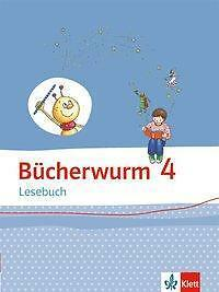 Bücherwurm Lesebuch 4 Grundschule Deutsch Lesen Klett Verlag NEU